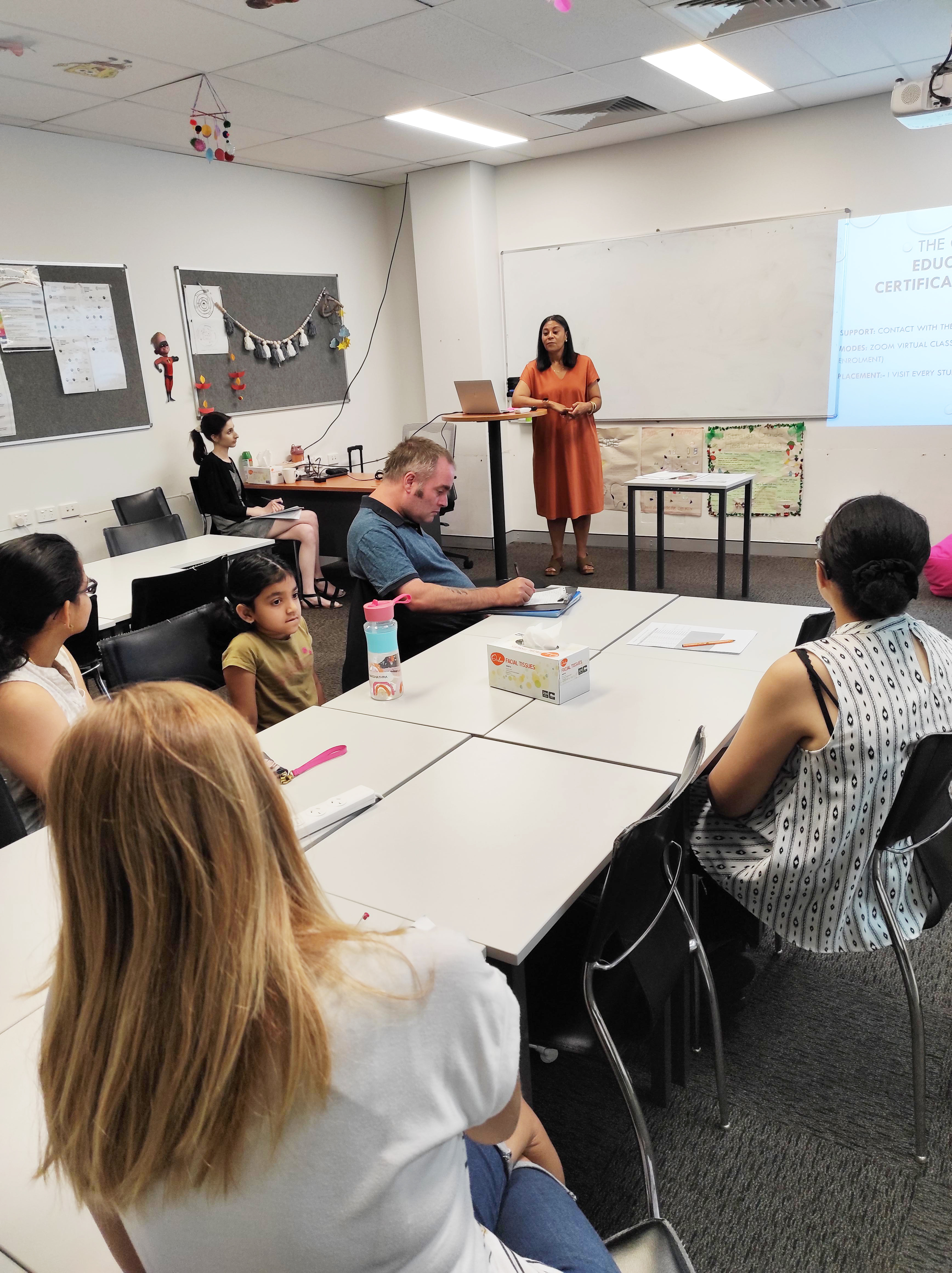 Education Support Info Session